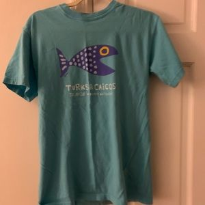 Comfort Colors Tops - Turks and Caicos T-shirt